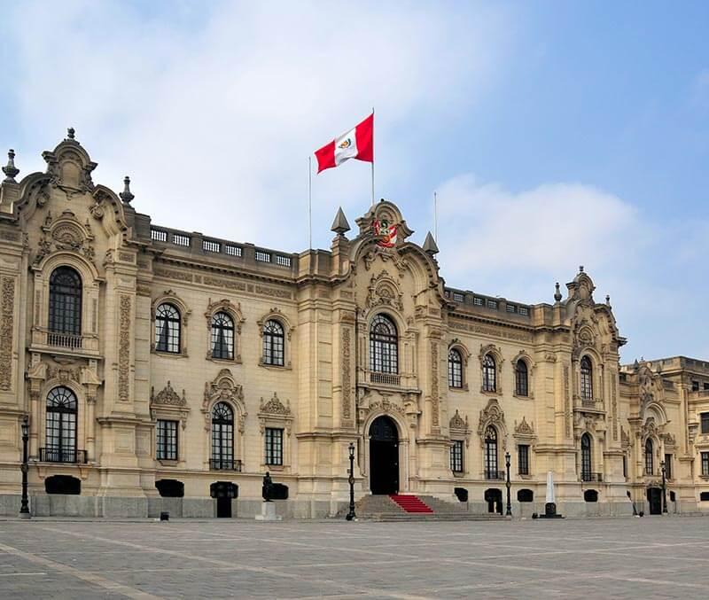 Factura electrónica en Perú, Mandatos, Ley, palacio gobierno