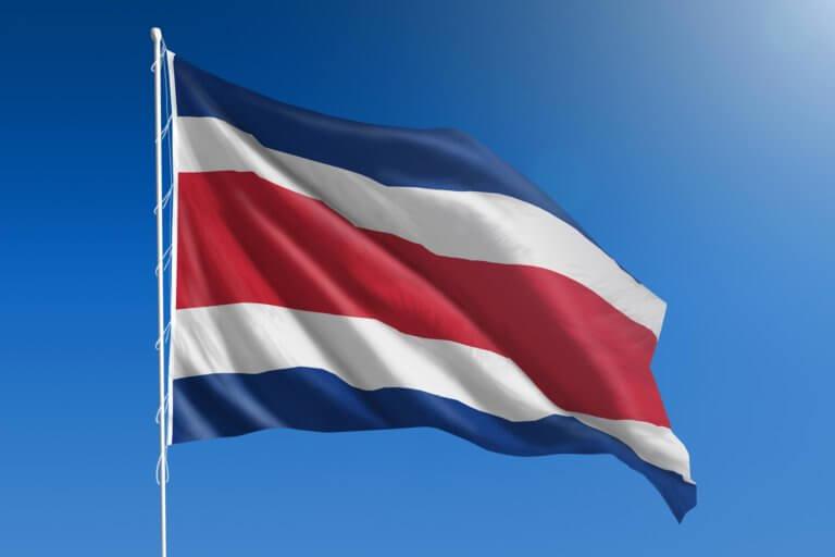 Costa Rica bandera