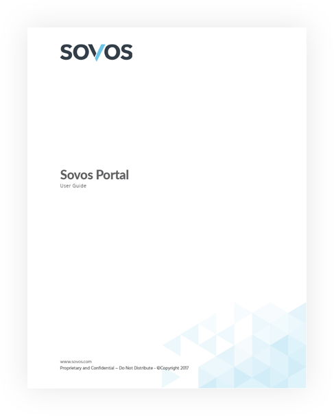 Portal da Sovos - Guia do Usuário