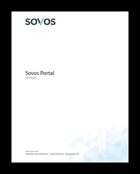 Sovos Portal User Guide