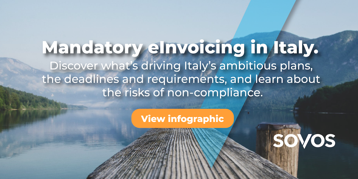 Infographic Italy EInvoicing At A Glance