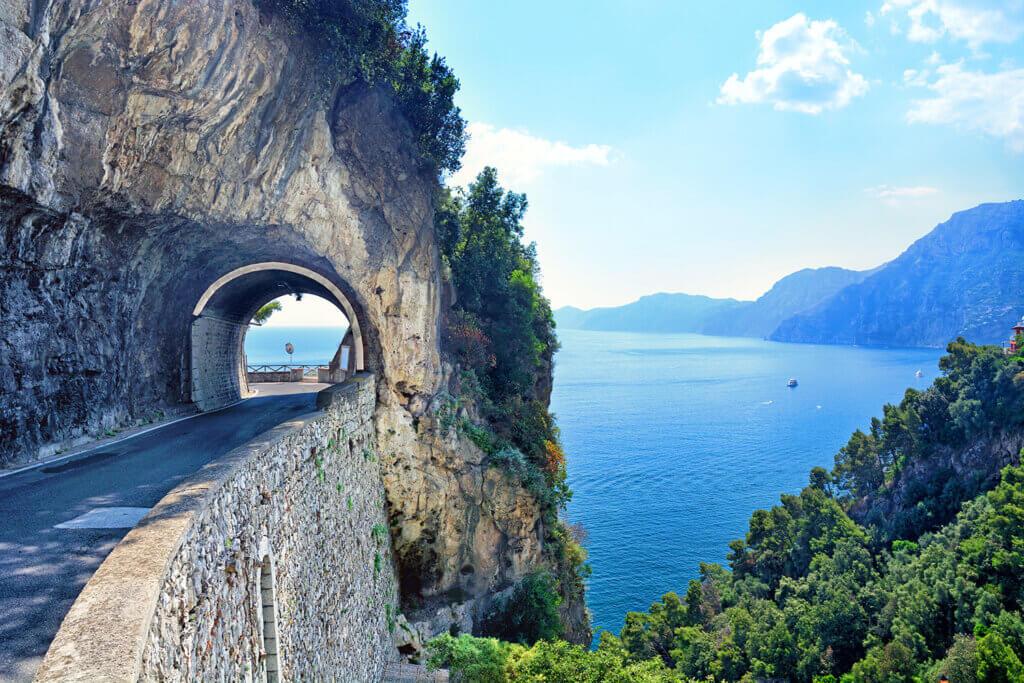 Road on Amalfi Coast, Italy
