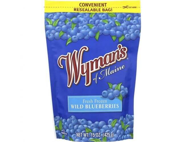 e-archive frozen blueberries