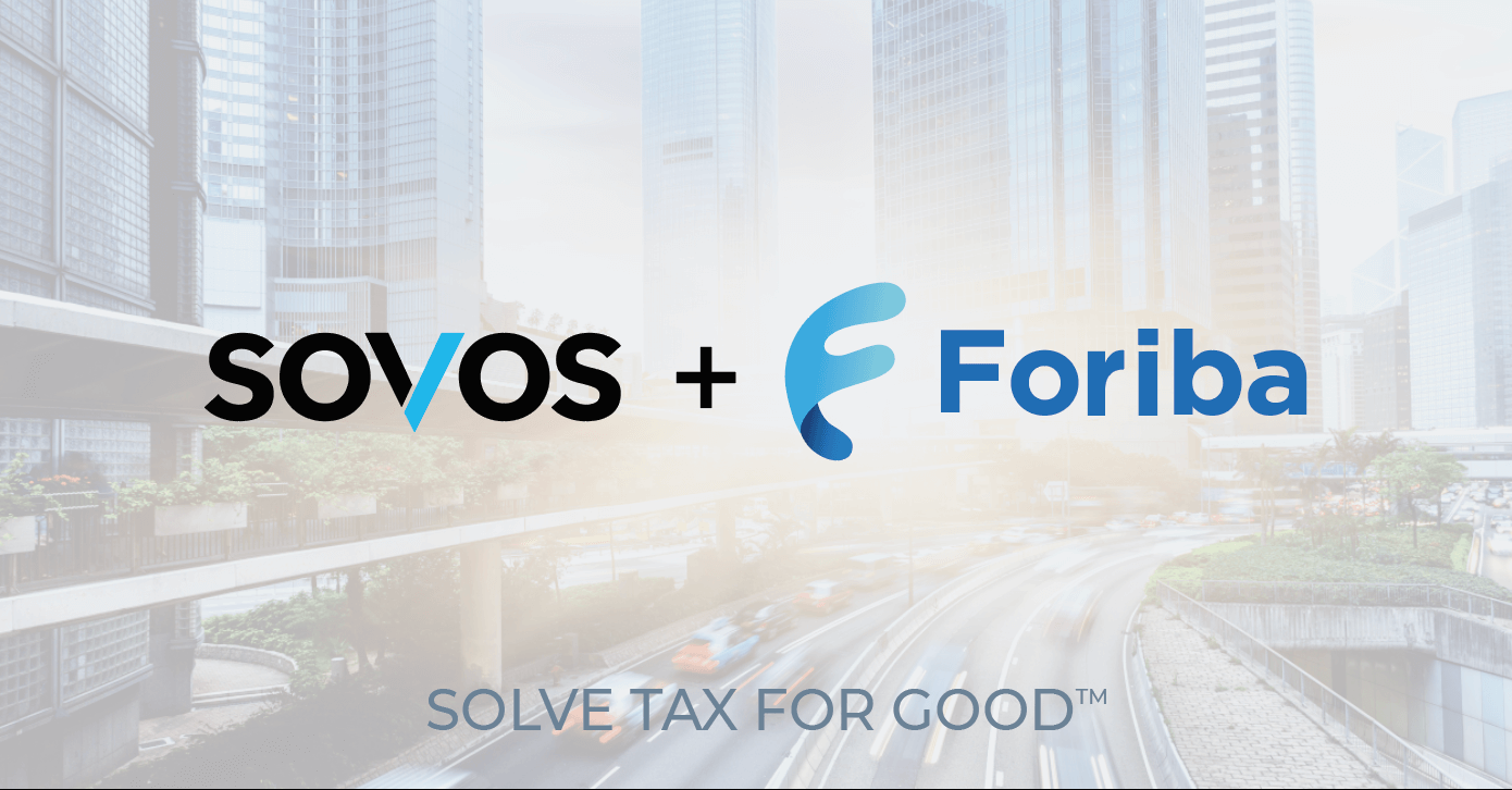Sovos Closes Foriba Acquisition, Advancing Mission to Solve Tax for Good